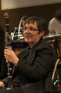 Anita & clarinet