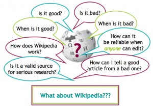 What about Wikipedia?