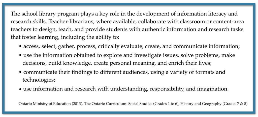 Elementary Curriculum Quote